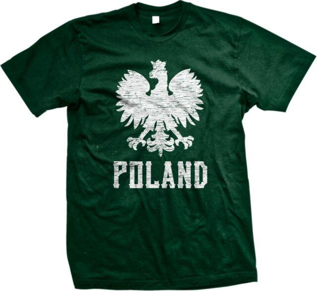 Polska Polish Eagle Polski Rzeczpospolita Poland Republic Pride Mens T-shirt