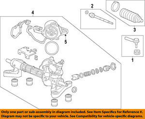 Note: Touring Outer Steering Tie Rod End fits 2007 Honda Odyssey for Left /& Right Side Set of 2