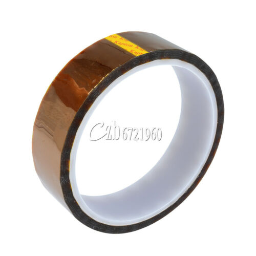 25mm x 30M Tape Sticky High Temperature Heat Resistant Polyimide