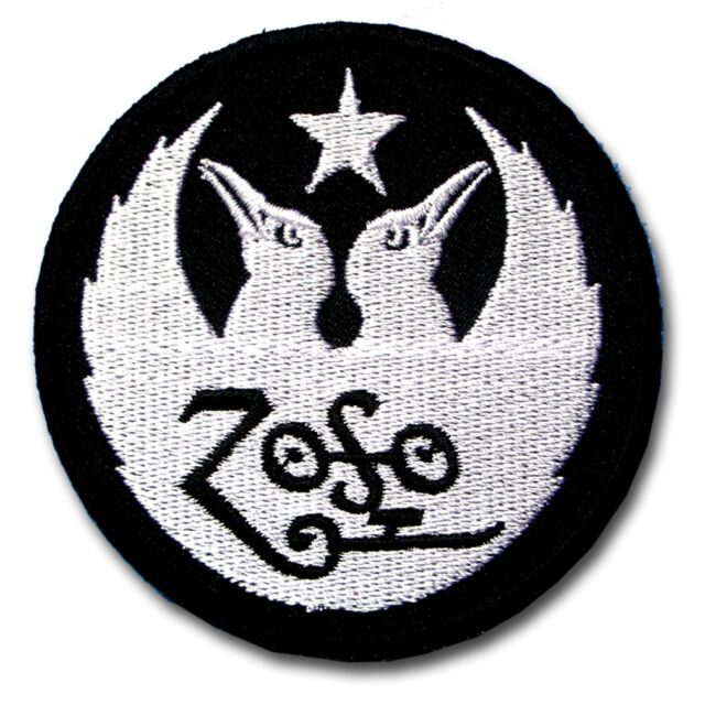 Iron On Patch Sew Heavy Metal Rock Band Music Embroidered Badge Led