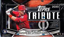 Fresh From Box 2020 Topps Tribute Baseball Factory Sealed Hobby Pack