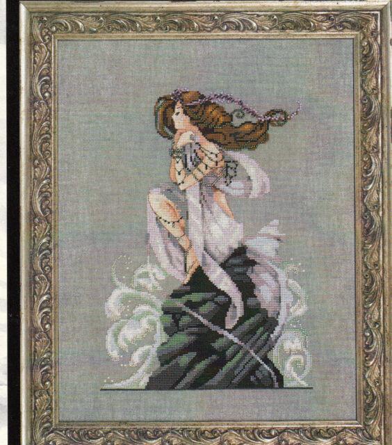 MD Mirabilia Nora Corbett design cross stitch ANDROMED   MD14 Fantasy  MERMAID