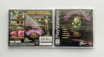 Flight Tracker Case & Manual Instruction Booklet Oddworld Abe's Oddysee Sony Playstation 1 Ps1 Video Games & Consoles