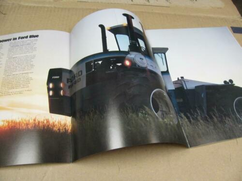 Ford FW20 FW30 FW60 4 Wheel Drive Tractor Sales Brochure Literature