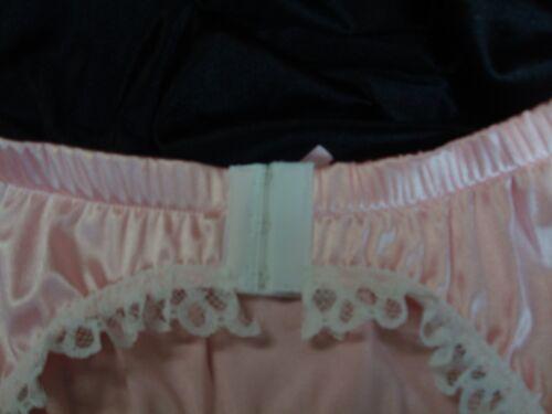 Adult Sissy 4 Bracelet Rose Blanc Porte-jarretelles-Satin /& Dentelle