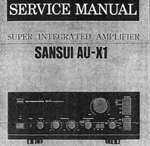 sansui au x1 super integrated stereo amp service manual inc schems rh ebay ie uher 724 stereo service manual uher 724 stereo service manual