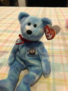 "Ty Beanie Baby ""Santa Maria"" Bear 2004 MWMT U.S. Shipping Only"