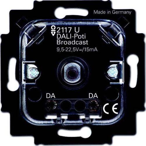 1er Busch-Jaeger Dali-Potentiomètre empiècement 2117 U