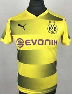 Borussia Dortmund 2017/2018 Puma Home Football Shirt Boys Size 164 ...