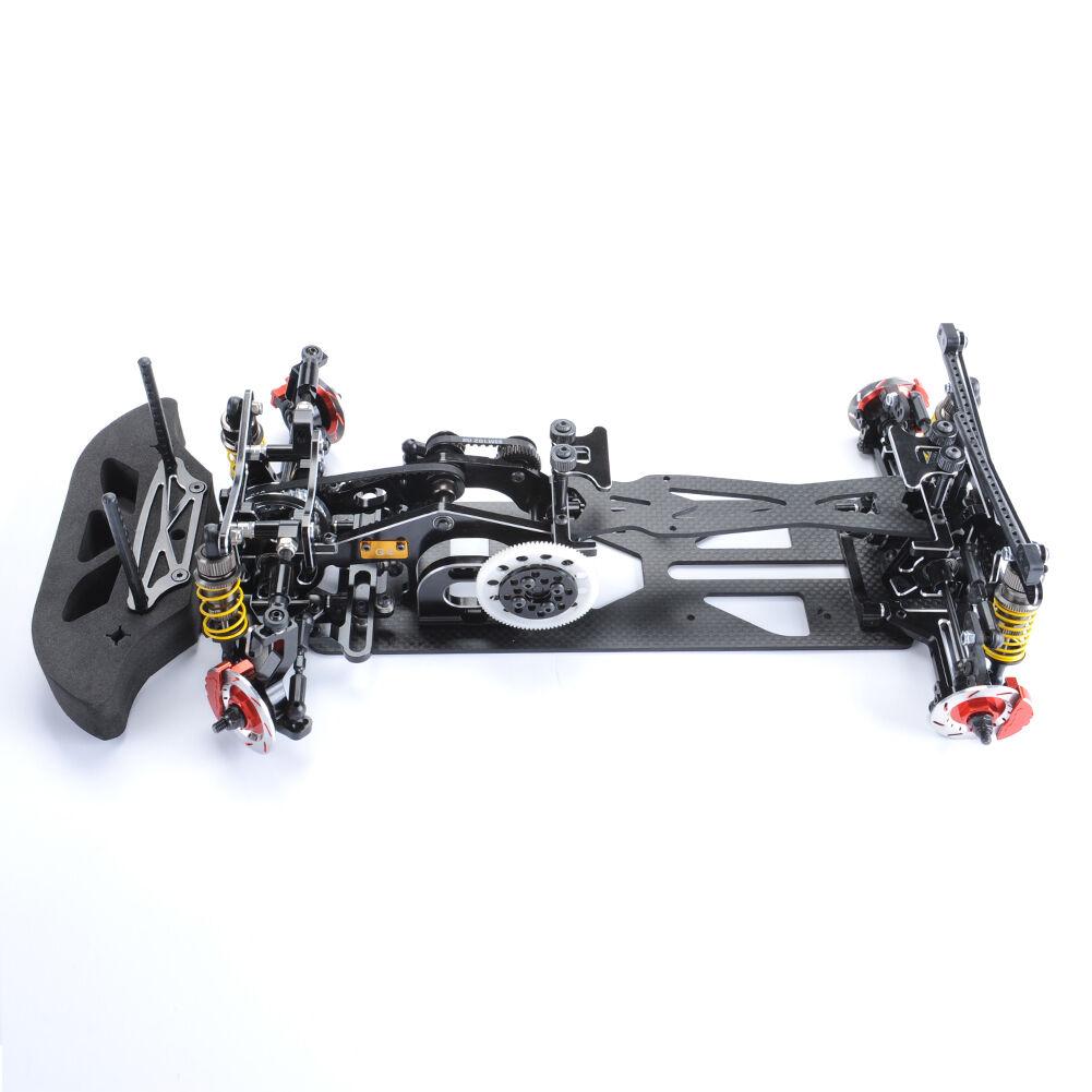 1  10 - kohlefaser - g4 4wd drift rc racing modell auto bild - baukastensystem