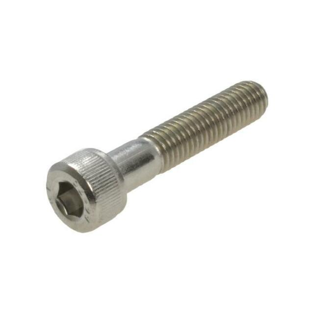 Pack Size 1 Stainless G316 Socket Head Cap M10 (10mm) x 90mm Metric Allen Screw