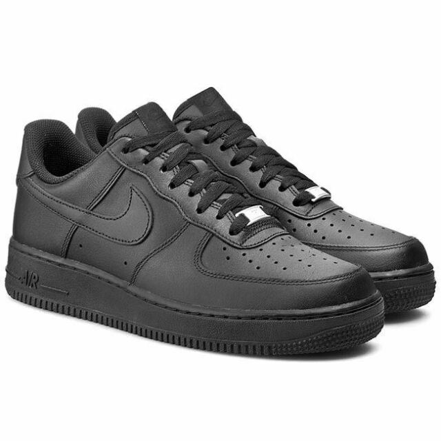 buy popular 5c4ca 550c6 Nike Mens Air Force 1  07 Trainers Black (315122-001)