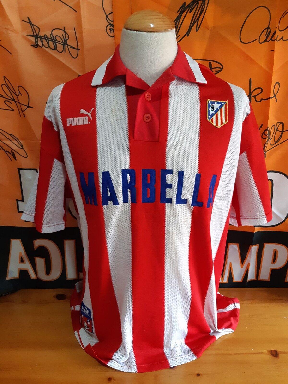 TShirt Calcio ATLETICO MADRID 19971998 Shirt Trikot Maglia