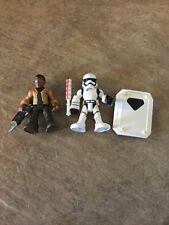 Playskool Galactic Heroes Star Wars Finn Jakku & First Order Stormtrooper Hasbro