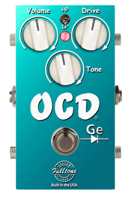 NEW Fulltone Custom Shop OCD GE Germanium Overdrive Effect Pedal Limited Edition