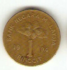Offer>Malaysia Kris $1  coin  1994   very nice!