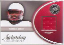torrey smith rookie rc jersey patch ravens maryland terps college 2011