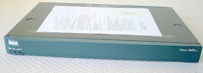 Laborioso Router Cisco 2611xm + Aim-vpn-ep 128mb Ram/48mb Fl Used-