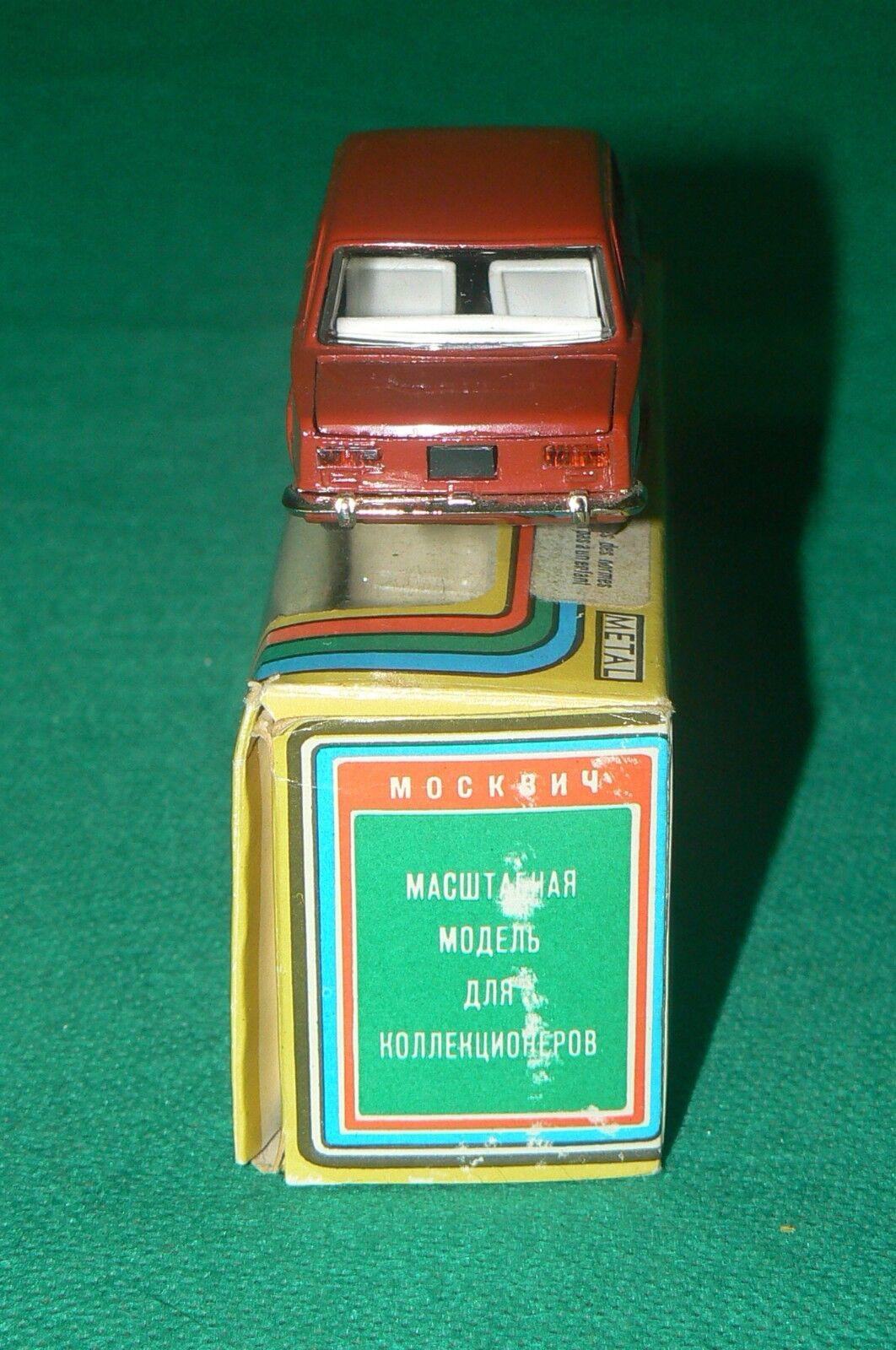 MOSKVITCH LADA BA3-2101 BA3 - 2101 red 1 43 43 43 CCCP USSR b1e80d