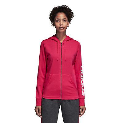 Adidas Women's Essentials Linear Hoodie NWT