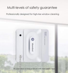 Mamibot W120-T Window Cleaning Robot Vacuum with iGLASSBOT APP/Remote Control...