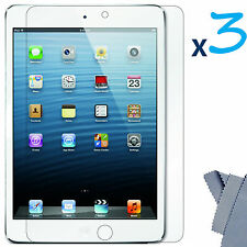 3x HD Clear LCD Screen Protector For Apple iPad Mini Cover Guard Shield Film