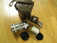 RARE Mint NIKON 13.5cm 3.5 rangefinder lens 135mm f/3.5 + FINDER / contax mount