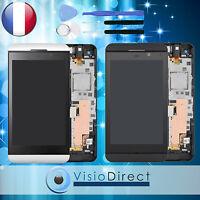 Ecran Vitre Complet Sur Chassis Pour Blackberry Z10 4g 001/111 Noir/blanc+outils
