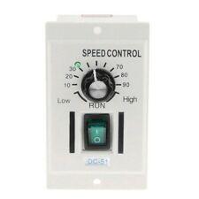 Ac 110v 400w Knob Motor Speed Controller Dc 0 90v Variable Lathe Single Phase