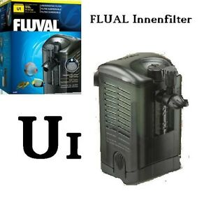 aquarium innenfilter fluval u 1 250 l h f r aquarien bis 55 liter bio filter ebay. Black Bedroom Furniture Sets. Home Design Ideas