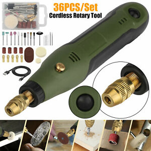 Mini Grinder Rotary Tool Polishing Drill Kit Variable Speed w/33pcs Accessories