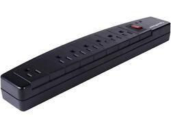 2-Pack CyberPower 3 Feet 7 Outlets 1200 Joules Surge Protector