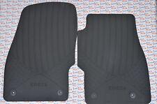 Vauxhall Corsa D and E Front Rubber Mat/Carpet Set 13483187 Original New