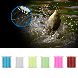 Nylon Super Durable Monofilament Sea Lake Fishing Line 0.1MM 0.4KG 0.4# 500M