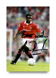 Paul-Parker-Signed-6x4-Photo-Manchester-United-England-Autograph-Memorabilia-COA