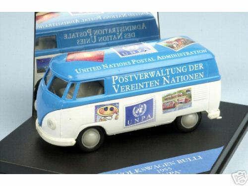 Escaso Vitesse VW T1 furgoneta Administración Postal de las Naciones Unidas 1 43 Ltd Edt MB 1 de 500