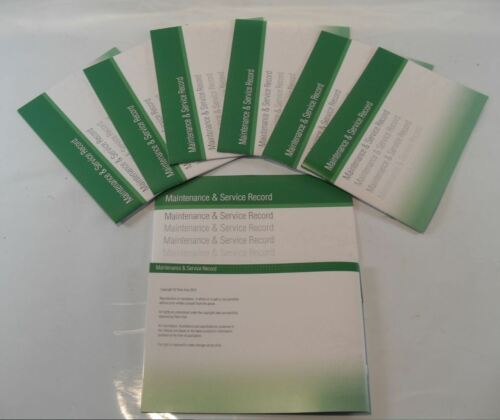 Replacement Generic Service History Book Suitable For Kia  Green