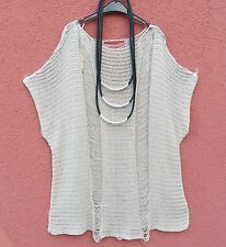 NEU BODY Überwurf Pullover Tunika Shirt Tunic Tunique XL 48 50 Lagenlook **