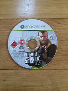 Grand-Theft-Auto-IV-GTA-4-pour-Xbox-360-Disque-Seulement
