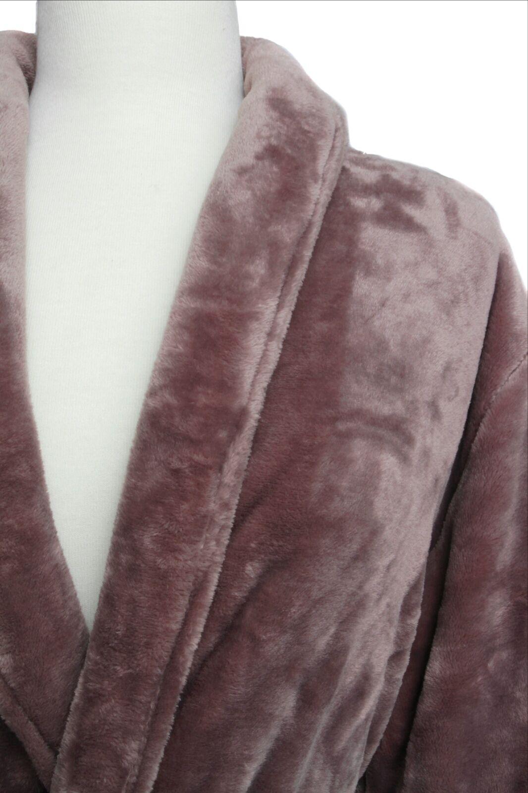 NEW PLUSH herren Spa Bath Robe SOFT 2 groß pockets & waist tie ON SALE