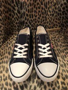 Levi's Womens Canvas Upper Shoes Comfy