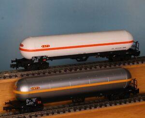 LS-60132-Spur-N-SNCF-Gaskesselwagenset-2tlg-Sati-4-achs-LS-Models-60132
