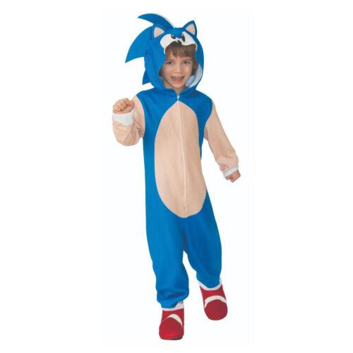 Sonic The Hedgehog Child Costume Sega Video Game 90s Youth Boys Kids Halloween