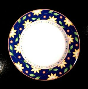 Beautiful-Taitu-Primavera-Blue-Lunch-Plate