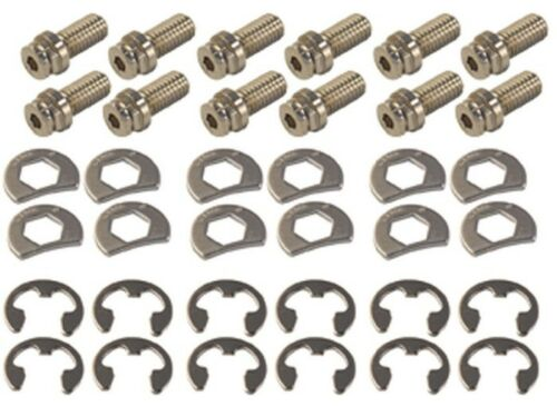 """Stage 8 8911 Locking Header Bolts Small Block Chevy Set of 12-3//4/"""" Long"""