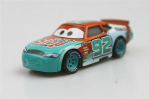 Disney-Pixar-Cars-3-MURRAY-CLUTCHBURN-Sputter-No-92-1-55-Diecast-Stop