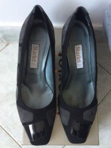 Italy Decollete Starlet Indossate Scarpe Made N Nere Mai 39 In Tg6qvax