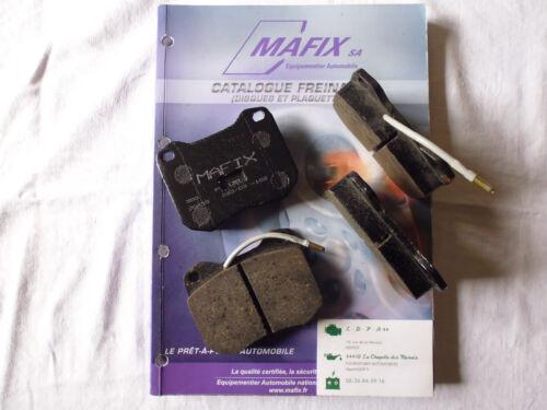 break Mafix 4 plaquettes de frein avant Peugeot 504 LDPA44 coupé j