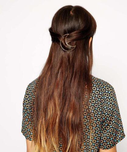 Femmes//Filles or argent Géométrie en épingle à cheveux Pince à Cheveux Cheveux Accessoires Bijoux Cadeau