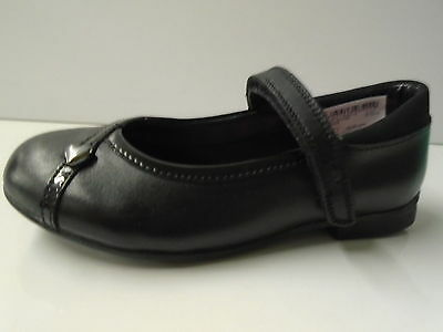 Zapatos de Cuero Clarks Niñas 'movello lo' Negro
